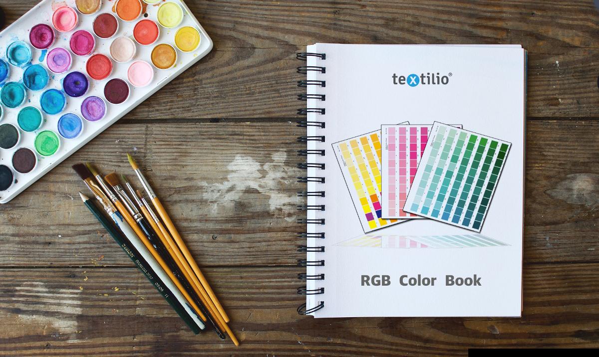 textilio color book